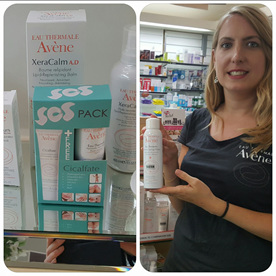Marion Kowalski from Avene Eau Thermale