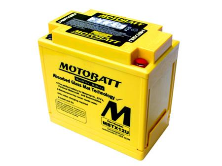 MBTX12U MotoBatt 4 Terminal 12v 200ccA 14Ahr Battery