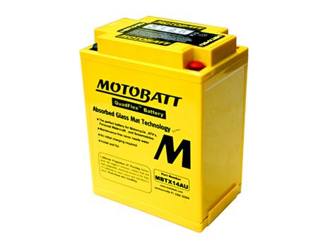 MBTX14AU MotoBatt 12v 190ccA 16.5Ahr Battery - MK3 Commando