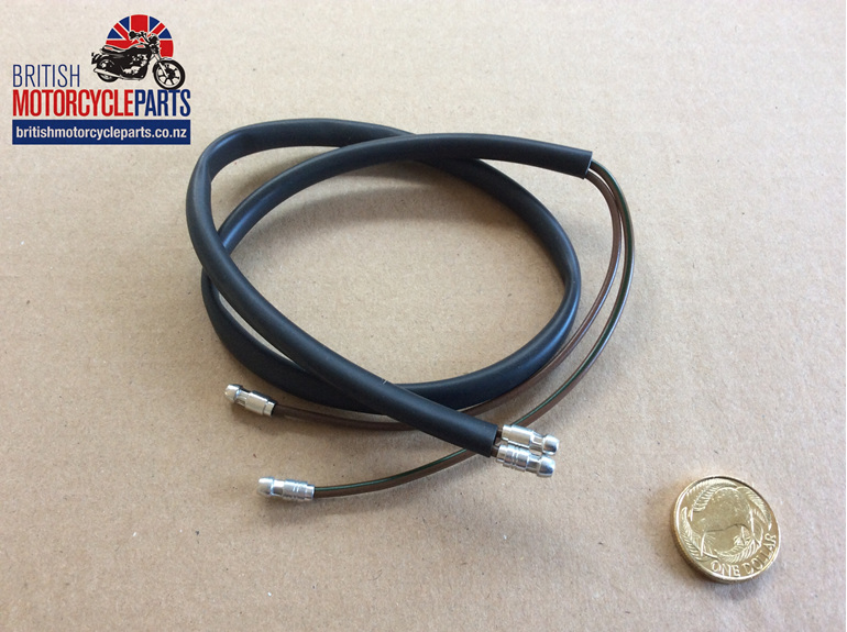 MC995 Stop & Tail Light Lead - 2 Wires - British Motorcycle Parts - Auckland NZ
