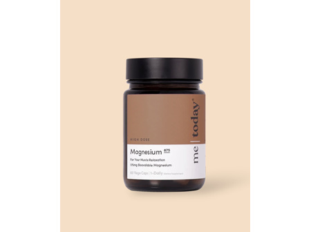 me today Magnesium 875 60vCaps