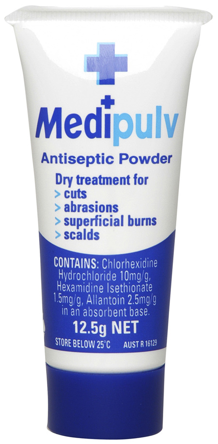 Medi Pulv Antiseptic Powder 12.5g