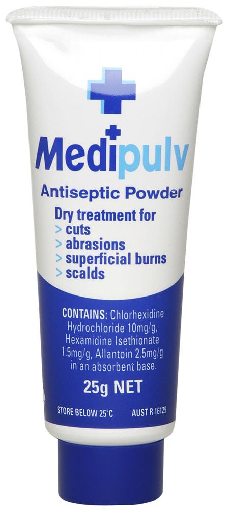 Medi Pulv Antiseptic Powder 25g