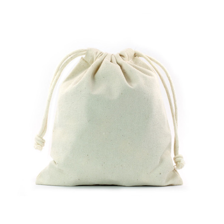 Medium Canvas Drawstring Bag
