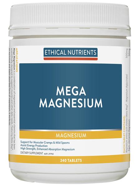 Mega Magnesium 240 Tablets