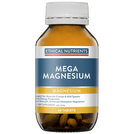 Mega Magnesium 60 Tablets