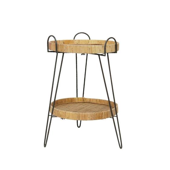 Meli Woven Side Table 45x64cm