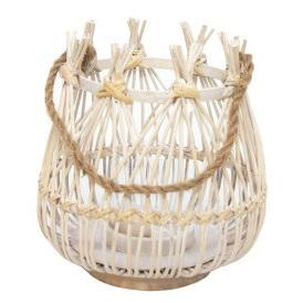 Melika Lantern - White Wash