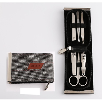 Melric Manicure Set/Metal Frame - 6 pc