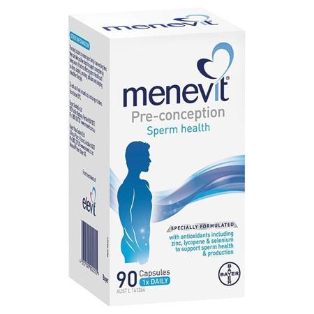 Menevit Male Fertility Supplement Capsules 90