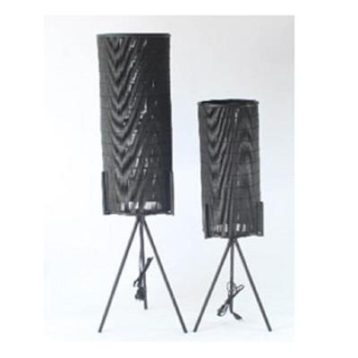 Meno Black Floor Lamp - Large