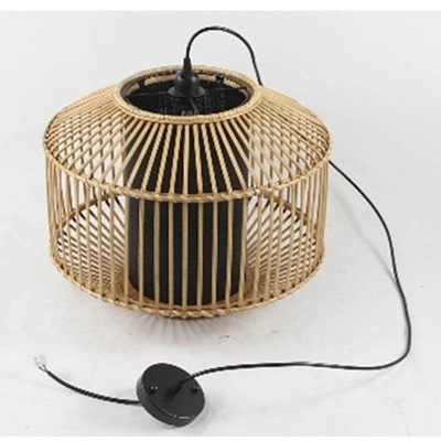 Meno Pendant - Natural & Black H30x39cm
