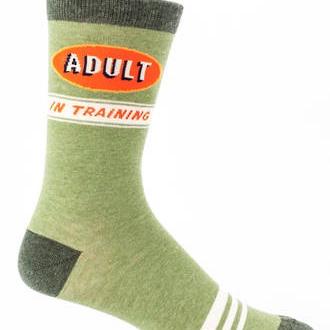 Men's Socks - Adult in Training