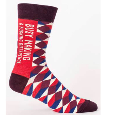 Men's Socks - Busy Making a F*cking Difference