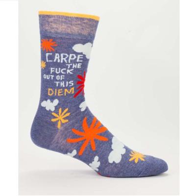 Men's Socks - Carpe Diem