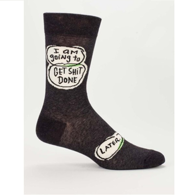 Men's Socks - Get Sh*t Done Later