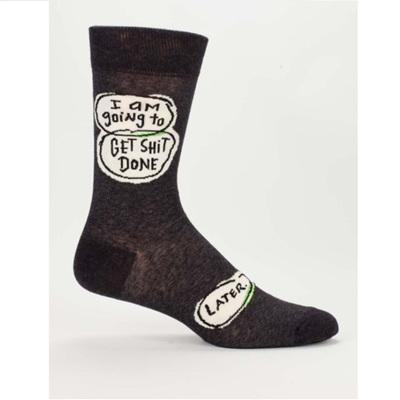 Men's Socks - Get Sh*t Done Later