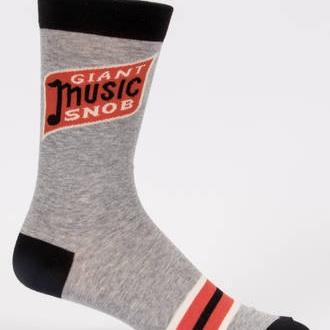 Men's Socks - Giant Music Snob