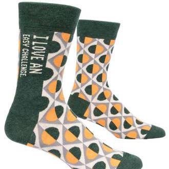 Mens Socks - I Love an Easy Challenge