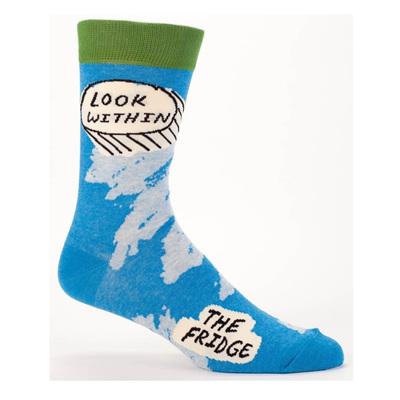 Mens Socks - Look Within The Fridge