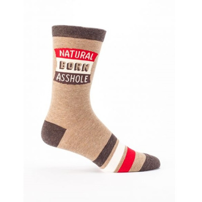 Men's Socks - Natural Born Asshole