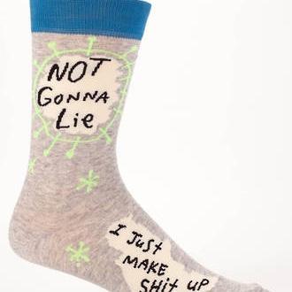 Mens Socks - Not Gonna Lie
