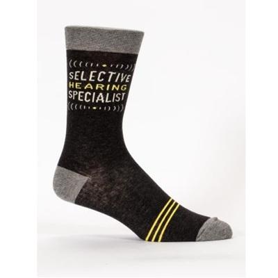 Men's Socks - Selective Hearing Specialist