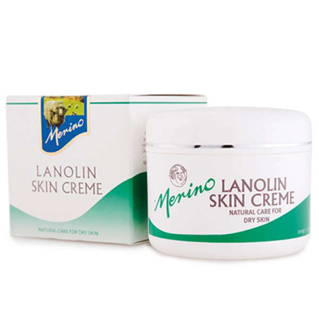 MERINO Lanolin Cream Pot Box 200g
