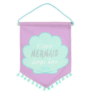 Mermaid Sleeps Here