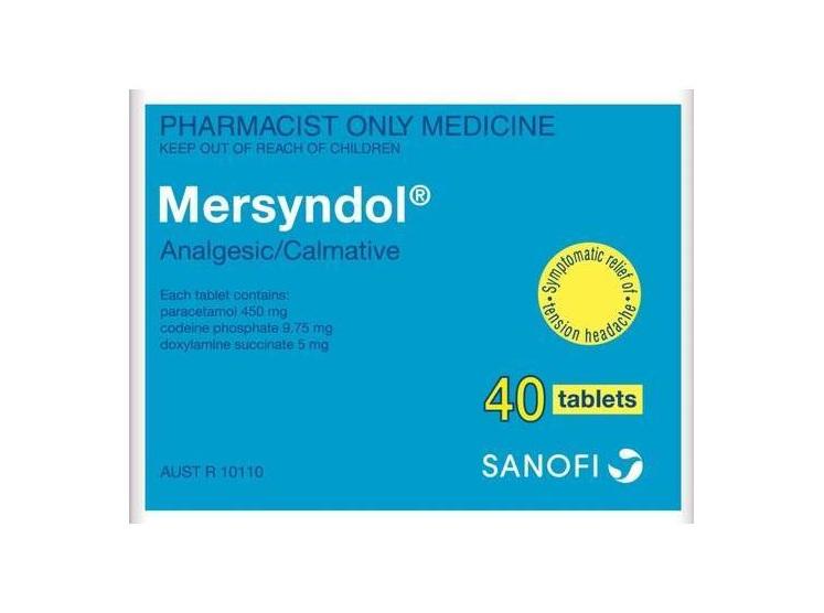 Mersyndol Ihakara Pharmacy