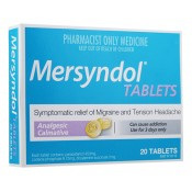Mersyndol Tablets 20 Tabs