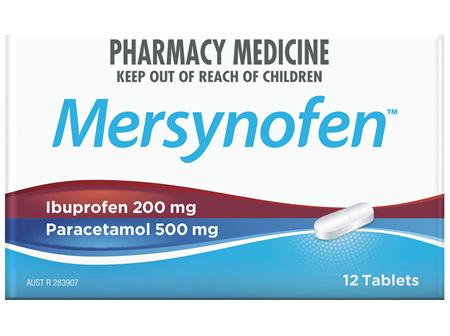 Mersynofen Tablets 12 Pack