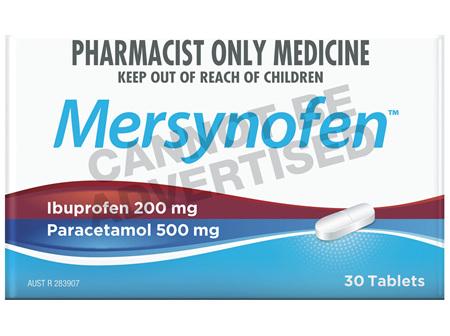Mersynofen Tablets 30 Pack