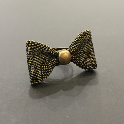 Mesh Bow Knot Ring