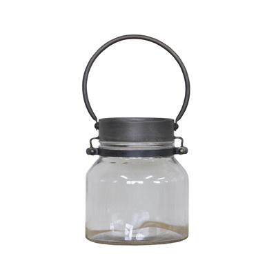 Metal/Glass Lantern - Small