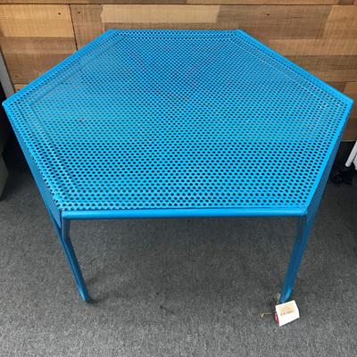 Metal Pinhole Nested Table
