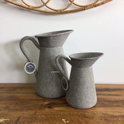 Metal Planter/Jug