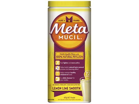 Metamucil Daily Fibre Supplement Lemon Lime Smooth 72 Doses