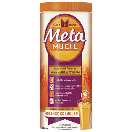 Metamucil Daily Fibre Supplement Orange Granular 48 Doses