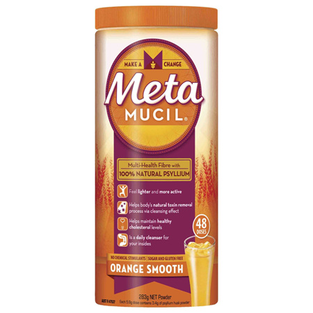 Metamucil Daily Fibre Supplement Smooth Orange 48 Doses