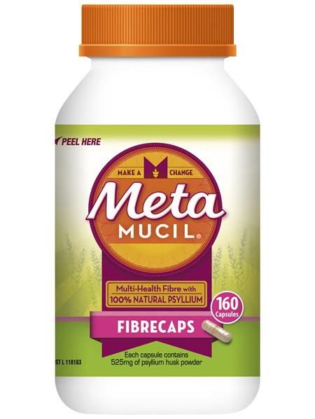 Metamucil Fibrecaps 160 Capsules