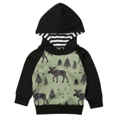 Midnight Moose Hoodie