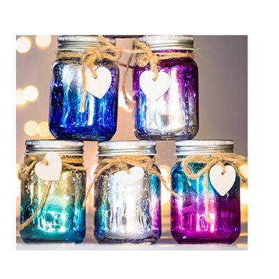 Mini Ombre Sparkle Jars