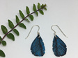 Mini silvereye earrings