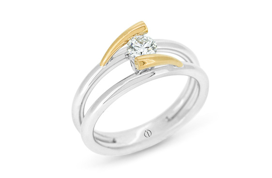 minik designer diamond ring