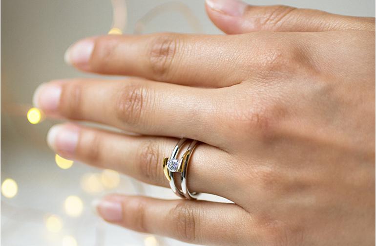 minik designer diamond ring