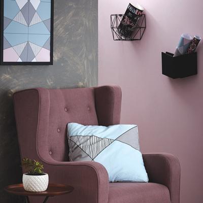 Mint & Grey Splice Box Cushion