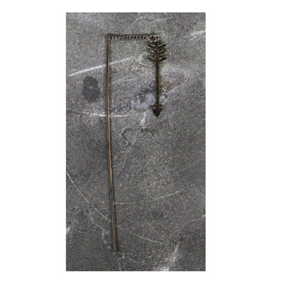 Missy Arrow Earring - Gun Metal