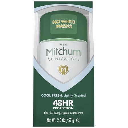 Mitchum Men Clinical Gel 48 Hour Cool Fresh