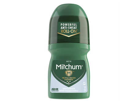 Mitchum Men's Roll On Unscented